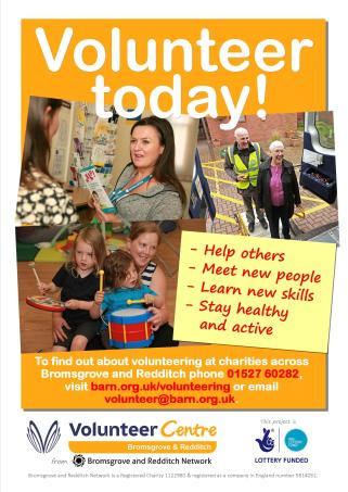 Get involved Volunteering poster 2018 JPG for web
